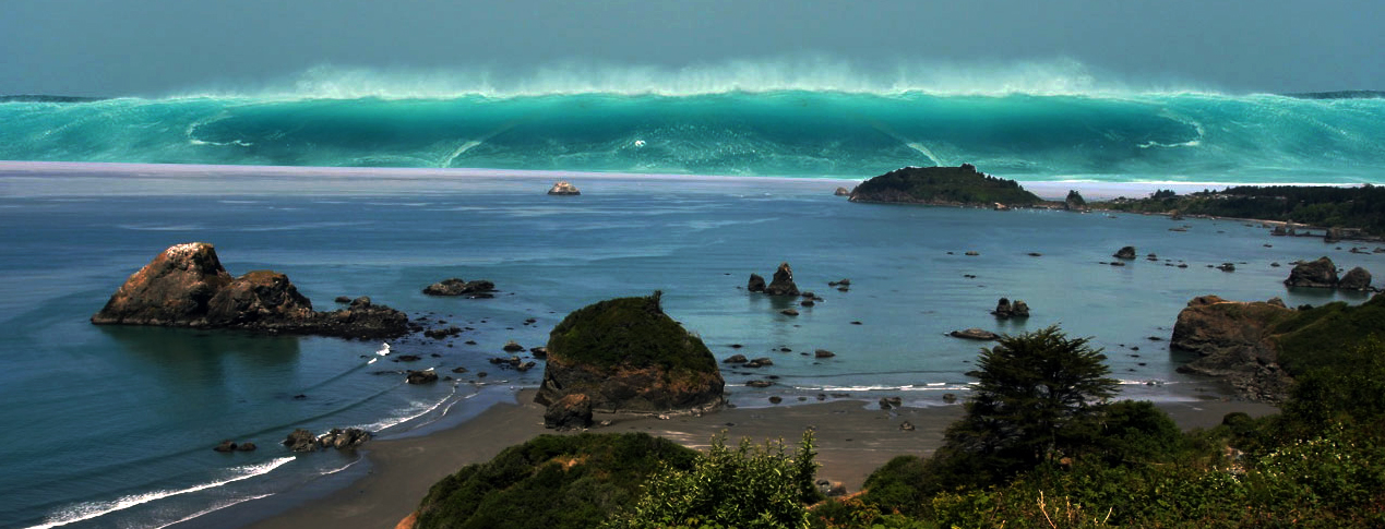 Tree ring dating and the orphan tsunami