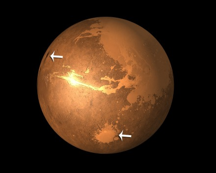 Mars arrows
